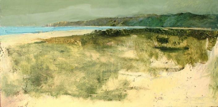 """cuadro de Jandro López """"Abrente"""" óleo sobre tabla"""