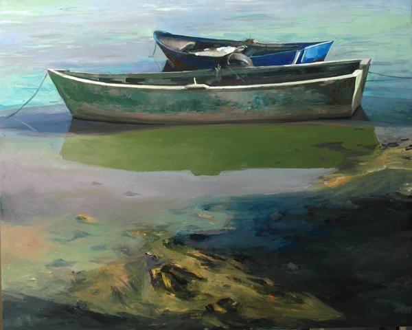 cuadro de Jandro López, óelo sobre tabla